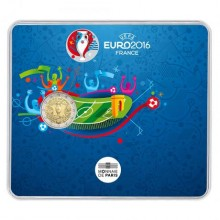 Frankrijk 2 Euro 2016 Coincard EK Voetbal 2016