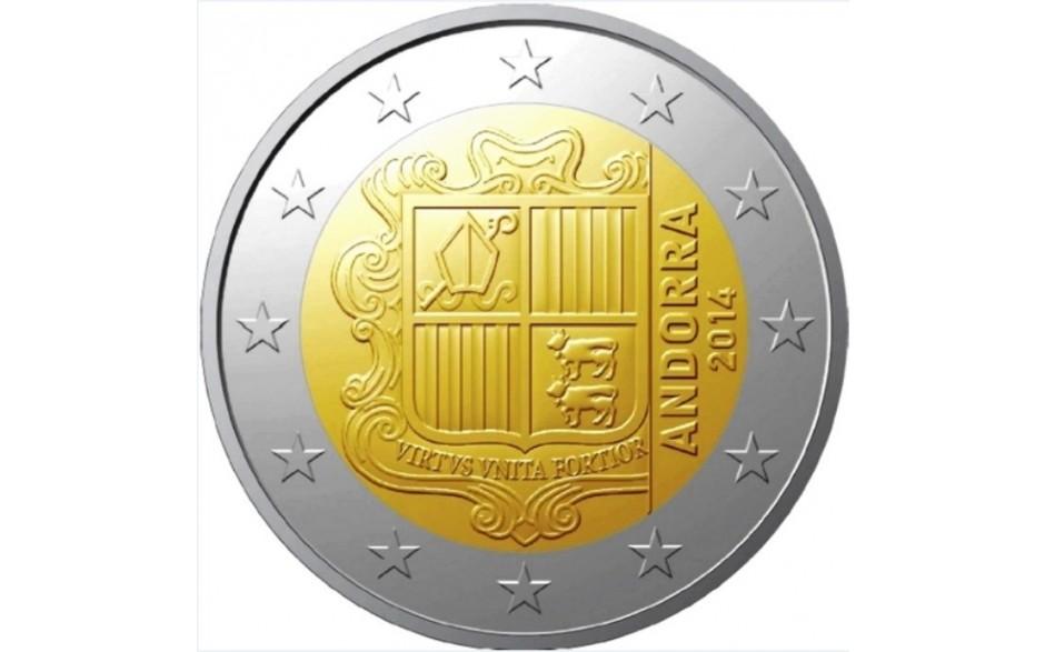 Andorra 2 Euro 2014 Normaal