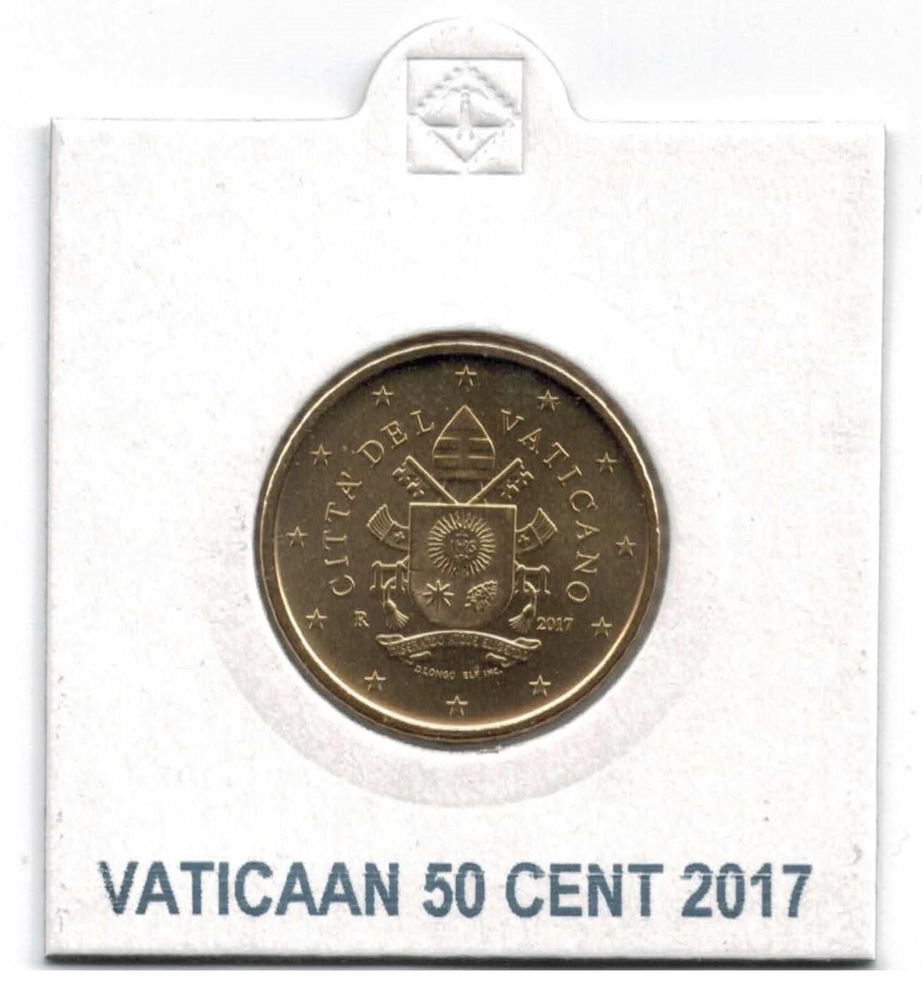 Vaticaan 50 Cent 2017 UNC | Eurocoinhouse