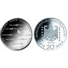 Duitsland 20 Euro 2016 Nelly Sachs