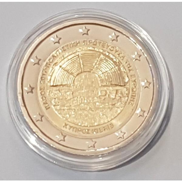 Zypern 2 Euro 2017 Paphos Bu 2 Euro Münzen Eurocoinhouse