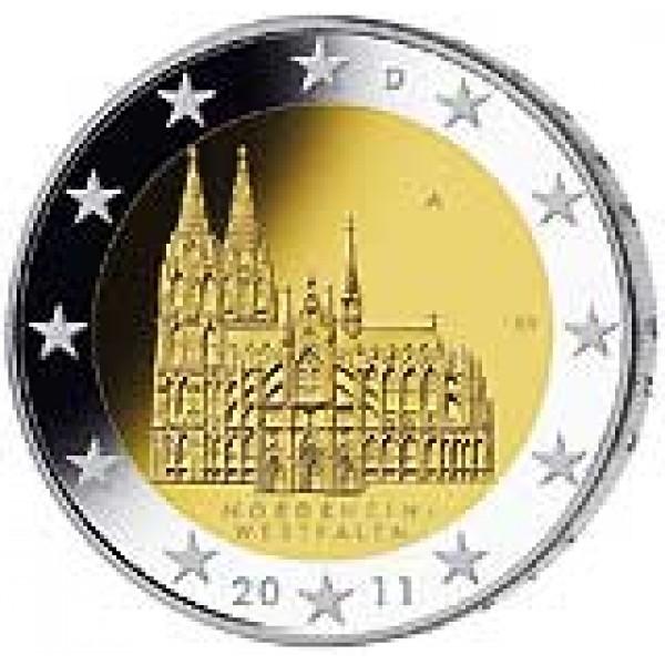 Deutschland 2 Euro 2011 Köln 2 Euro Münzen Eurocoinhouse