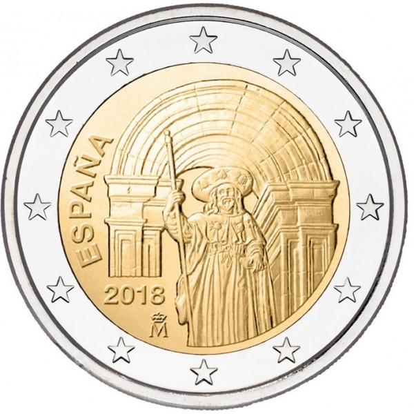 Spanien 2 Euro 2018 Santiago De Compostela 2 Euro Münzen