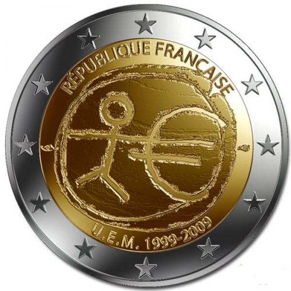 Frankreich 2 Euro 2009 10 Jahre Europäische Währungsunion 2 Euro