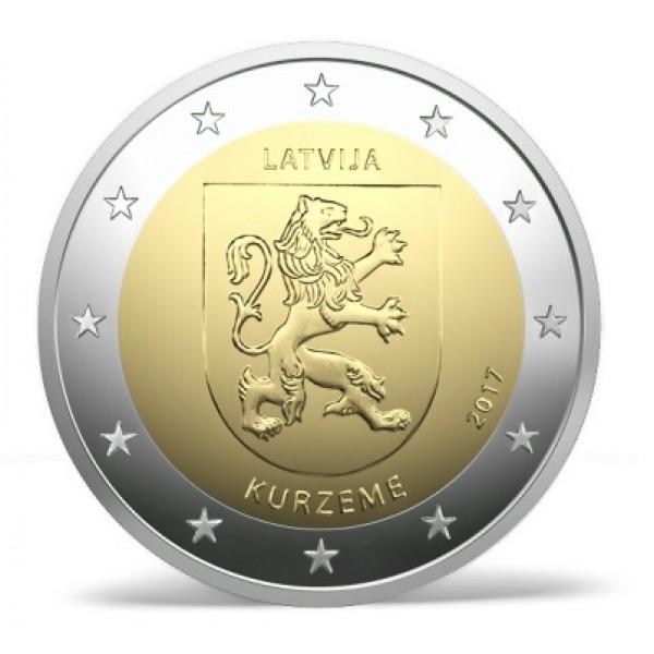 Lettland 2 Euro 2017 Kurland 2 Euro Münzen Eurocoinhouse