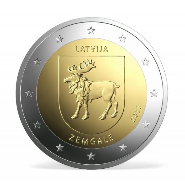 Lettland 2 Euro 2018 Semgallen 2 Euro Münzen Eurocoinhouse