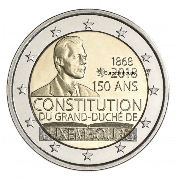 Luxemburg 2 Euro 2018 150 Jahre Verfassung 2 Euro Münzen