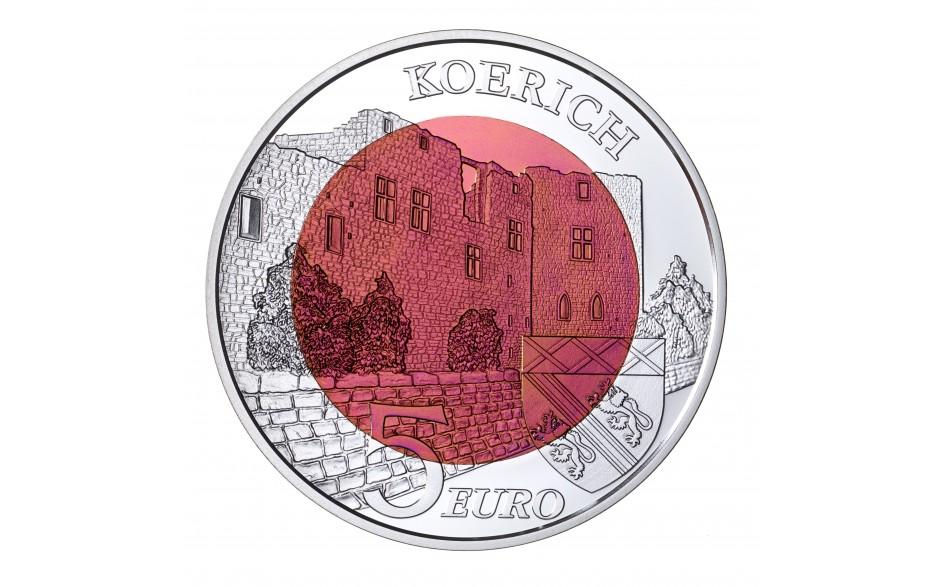Luxemburg 5 Euro 2018 Schloss Koerich Eurocoinhouse