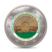 Farbige 2 Euro Münzen Für Sammler Cyprus Eurocoinhouse
