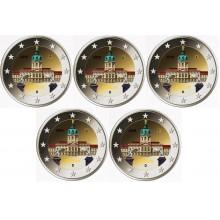 Farbige 2 Euro Münzen Für Sammler Eurocoinhouse