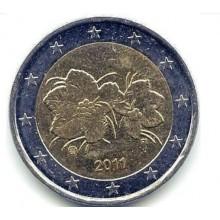 Euromünzen Aus Finnland Normale 2 Euromunten Eurocoinhouse