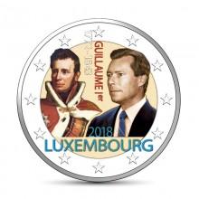 Farbige 2 Euro Münzen Für Sammler Luxemburg Eurocoinhouse
