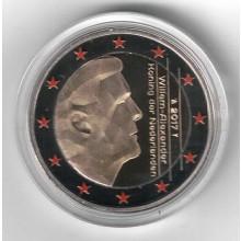 Farbige 2 Euro Münzen Für Sammler Nederland Eurocoinhouse