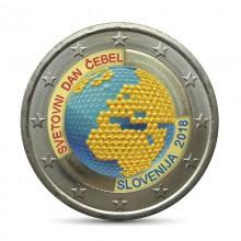 Farbige 2 Euro Münzen Für Sammler Slovenie Eurocoinhouse