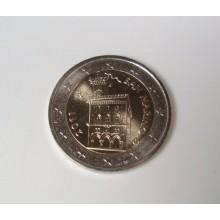 San Marinesische Euromünzen Für Jede Sammlung Normale 2 Euromunten