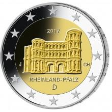Deutschland 2 Euro 2017 Rheinland Pfalz - Porta Nigra