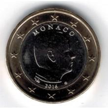 Monaco 1 Euro 2016 UNC