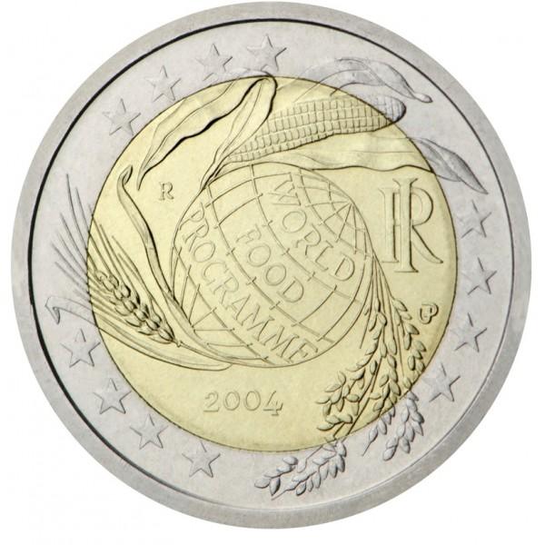 Italy 2 Euro 2004 World Food Programme Special 2 Euro Coins Eurocoinhouse