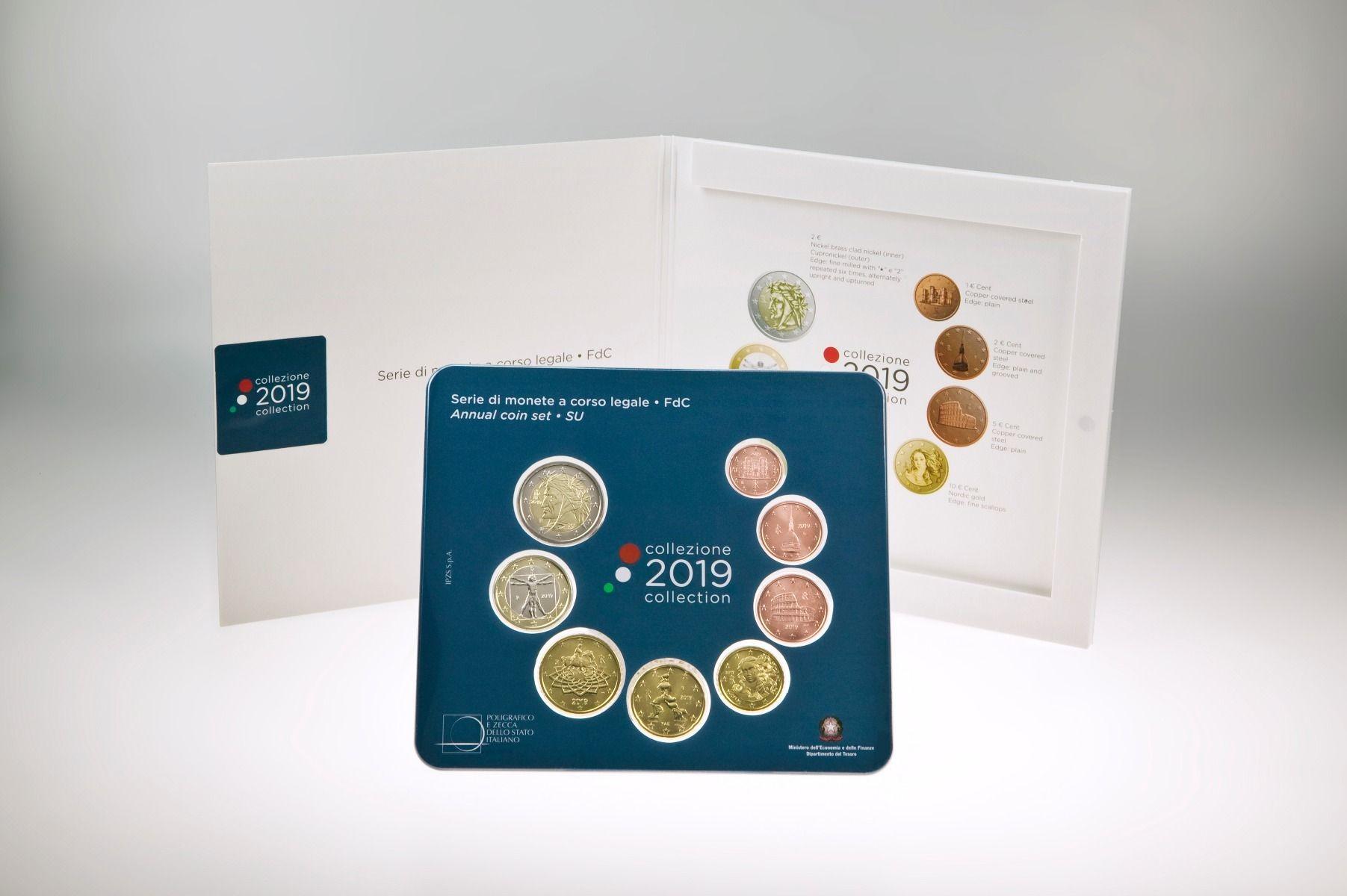2 euro 3,88 euro Latvia 2019 coin set BU 1 cent