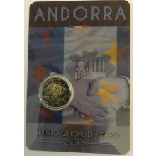 Andorra 2 Euro 2015 Customs Agreement with the EU
